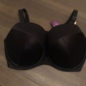 Lane Bryant cacique NWT push up balconette bra
